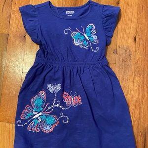 Purple Butterfly dress